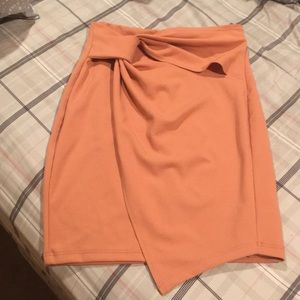 Peach skirt worn once in Vegas